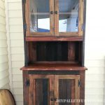 Dinning room cabinet with pallets