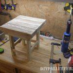 Little pallet table