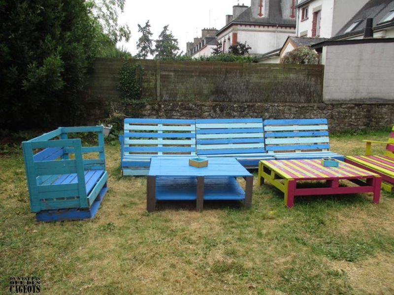 Garden furniture On n'est pas que des cageots 4