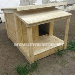Compilation of dog houses made with pallets