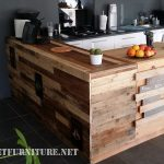 Kitchen extension with pallets