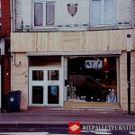 Facade rehabilitated with pallet boards