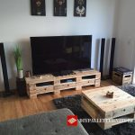Furniture for the TV and coffee table