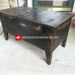 Double door table and trunk
