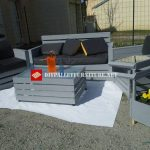 Nice furniture set for the terrace