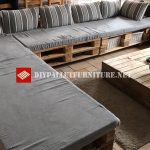 Super sofa with pallets